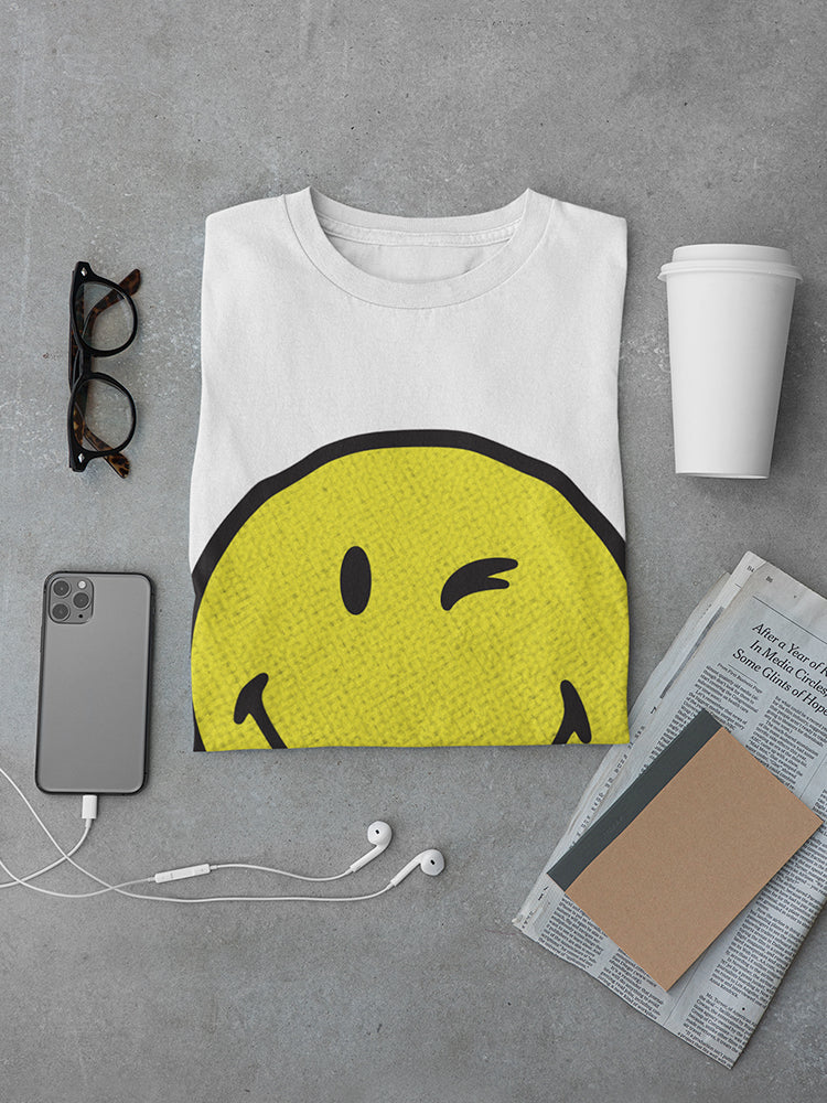 SmileyWorld Classic Yellow Happy Face Men's T-shirt