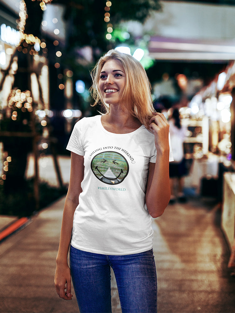 SmileyWorld Sailing Into The Weekend Women's T-shirt