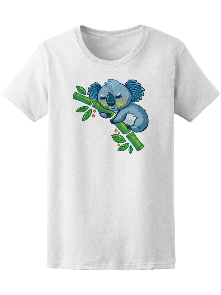 Cute Koala On A Tree Tee Women's -Image by Shutterstock
