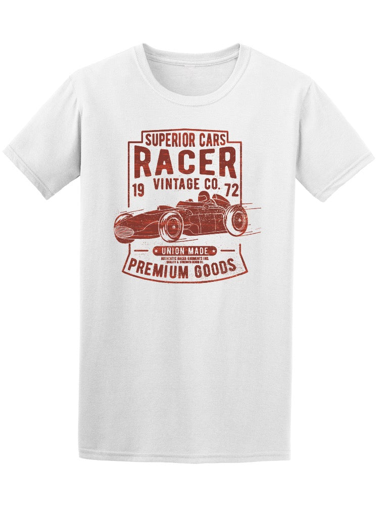 Vintage Superior Car Racer Men's Tee - Image by Shutterstock