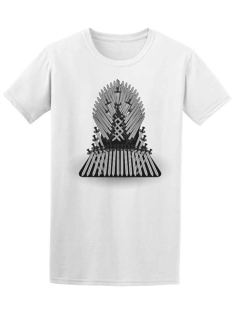 Iron Throne Tv Show Tee Men's -Image by Shutterstock