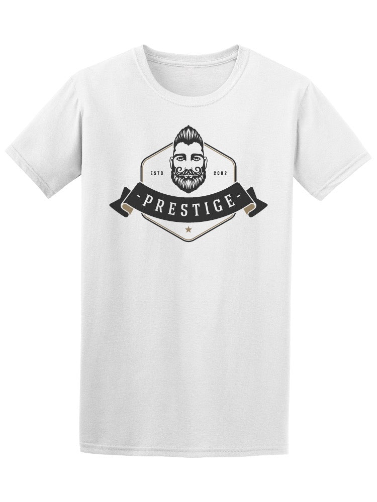 Barbershop Prestige Cool Beard Tee Men's -Image by Shutterstock