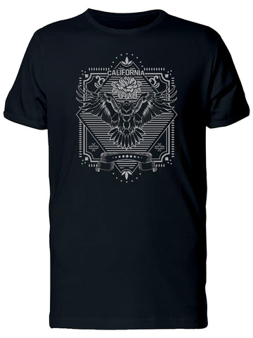 California Vintage Eagle & Roses Tee Men's -Image by Shutterstock