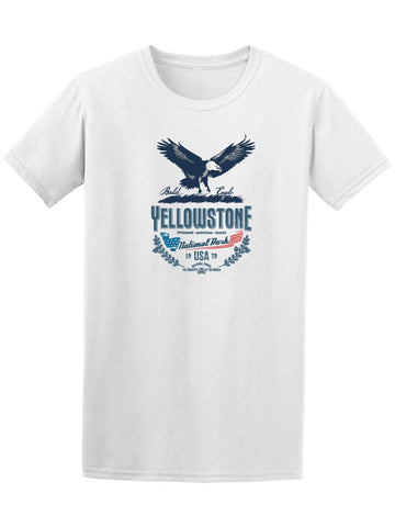 Yellowstone Eagle National Park Tee Men's -Image by Shutterstock