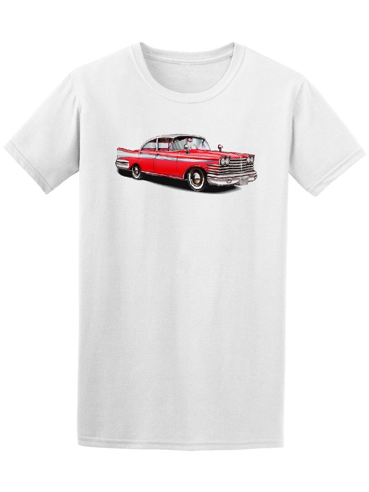 Retro Red Car Tee Men's -Image by Shutterstock