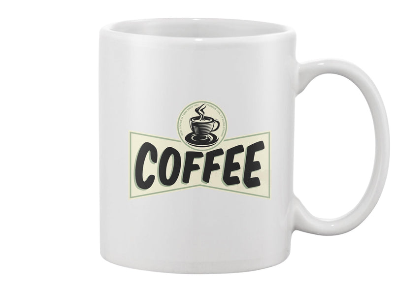 Coffee Vintage Design Mug -Image by Shutterstock