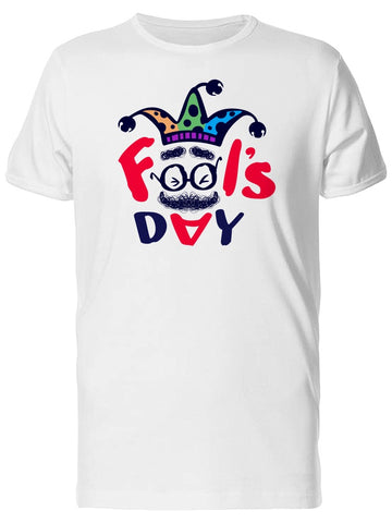 Fools Day Silhouette Tee Men's -Image by Shutterstock
