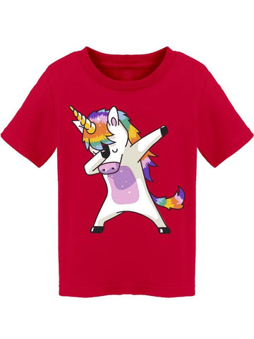 Dabbing Unicorn Tee Toddler's -Image by Shutterstock