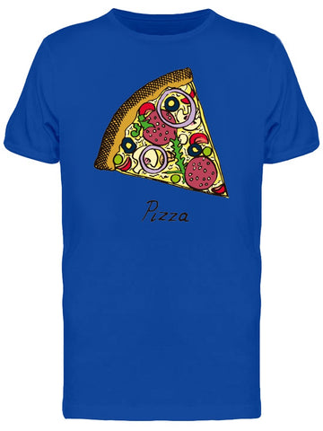 Traditional Slice Of Pizza Tee Men's -Image by Shutterstock