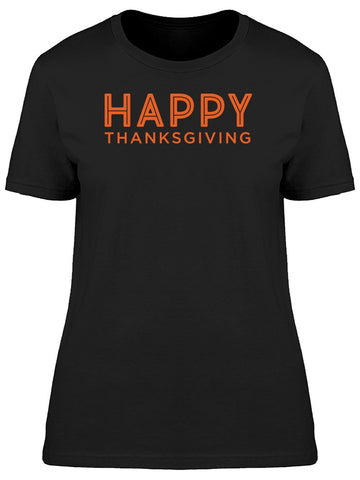 """Happy Thanksgiving"" Quote Tee Men's -Image by Shutterstock"