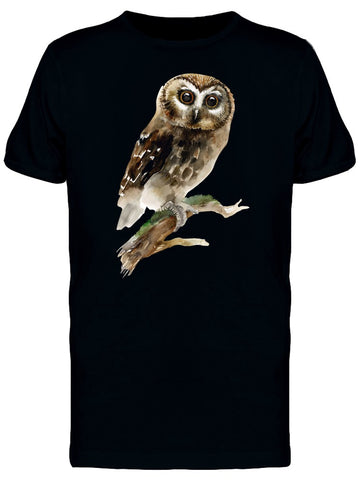 Brown Little Owl Tee Men's -Image by Shutterstock