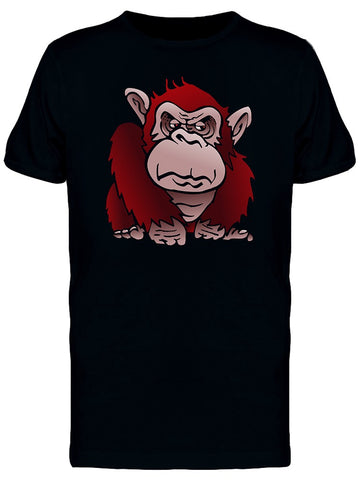 Grumpy Red Monkey Tee Men's -Image by Shutterstock