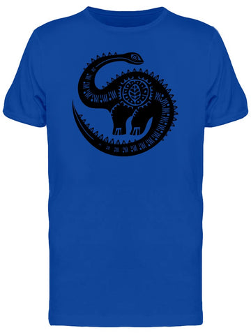 Ancient Art Dinosaur Tee Men's -Image by Shutterstock