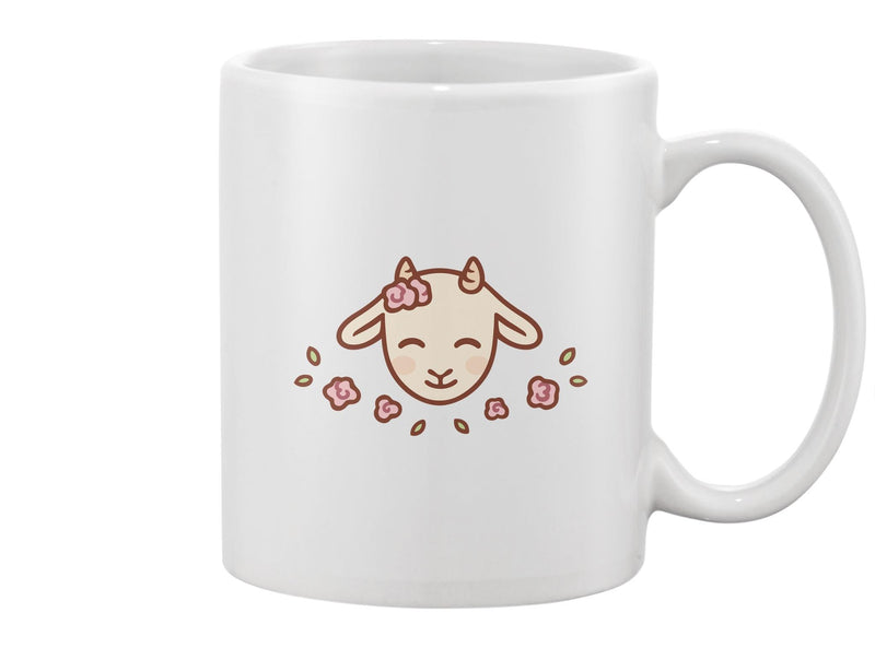 Cute Baby Goat  Mug -Image by Shutterstock