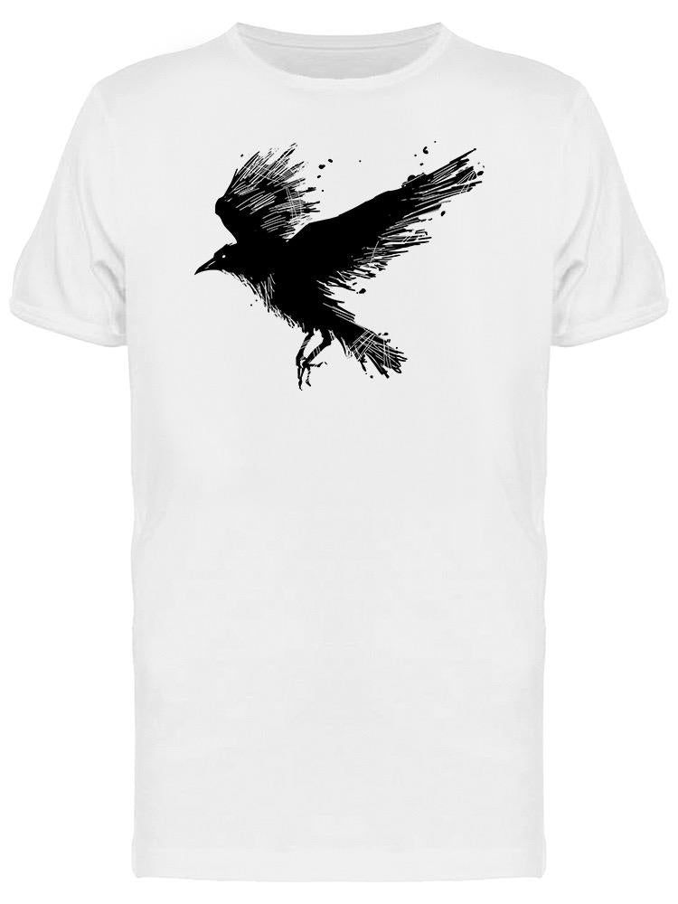 Detailed Crows Graphic Tee Men's -Image by Shutterstock