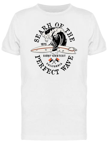. Search Of The Perfect Wave Tee Men's -Image by Shutterstock