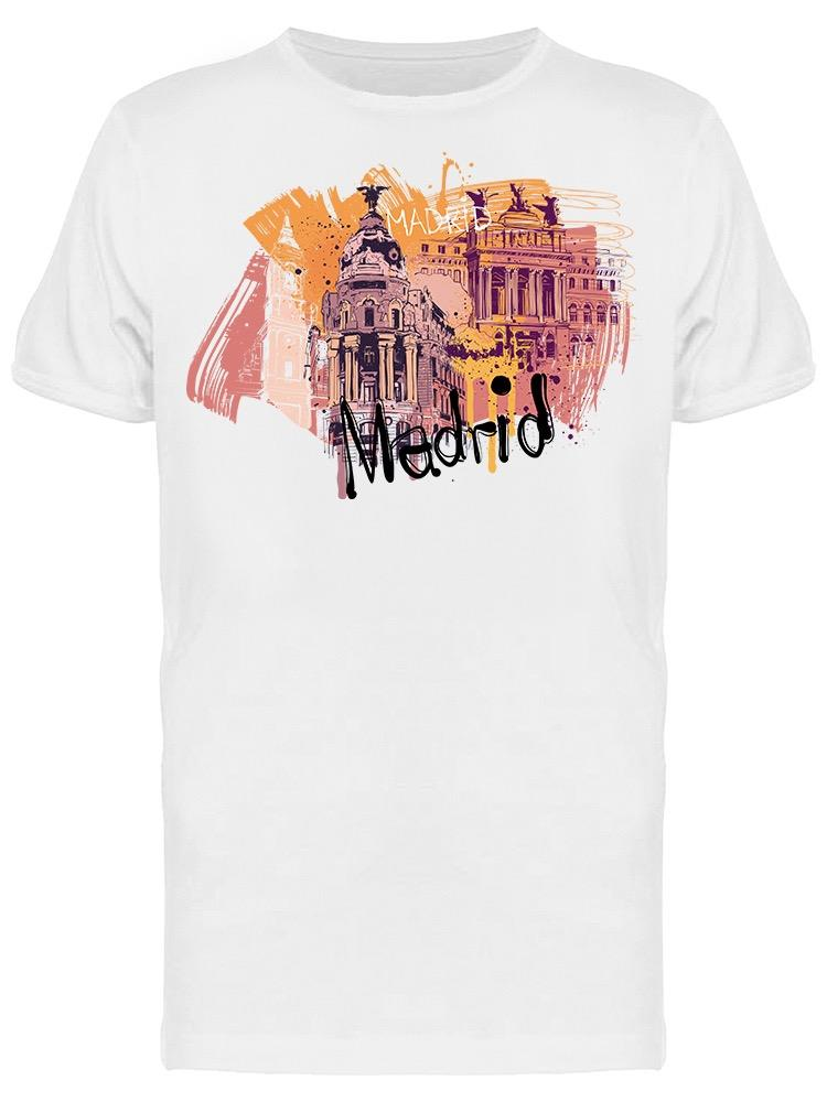Graphic Madrid City Tee Men's -Image by Shutterstock