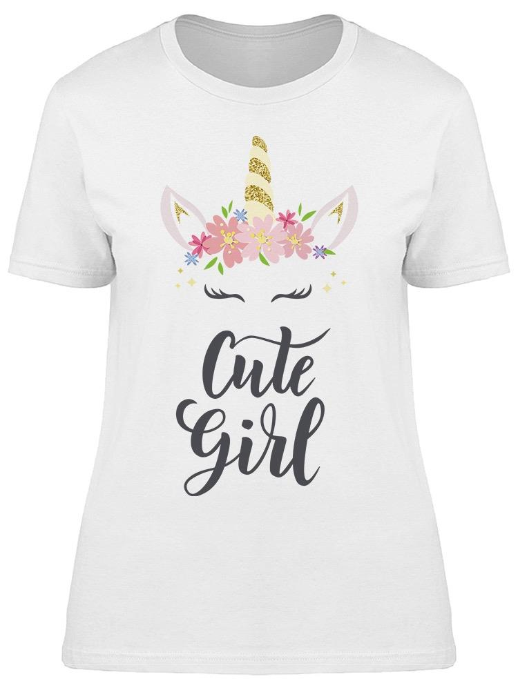 Cute Girl Hand  Tee Women's -Image by Shutterstock