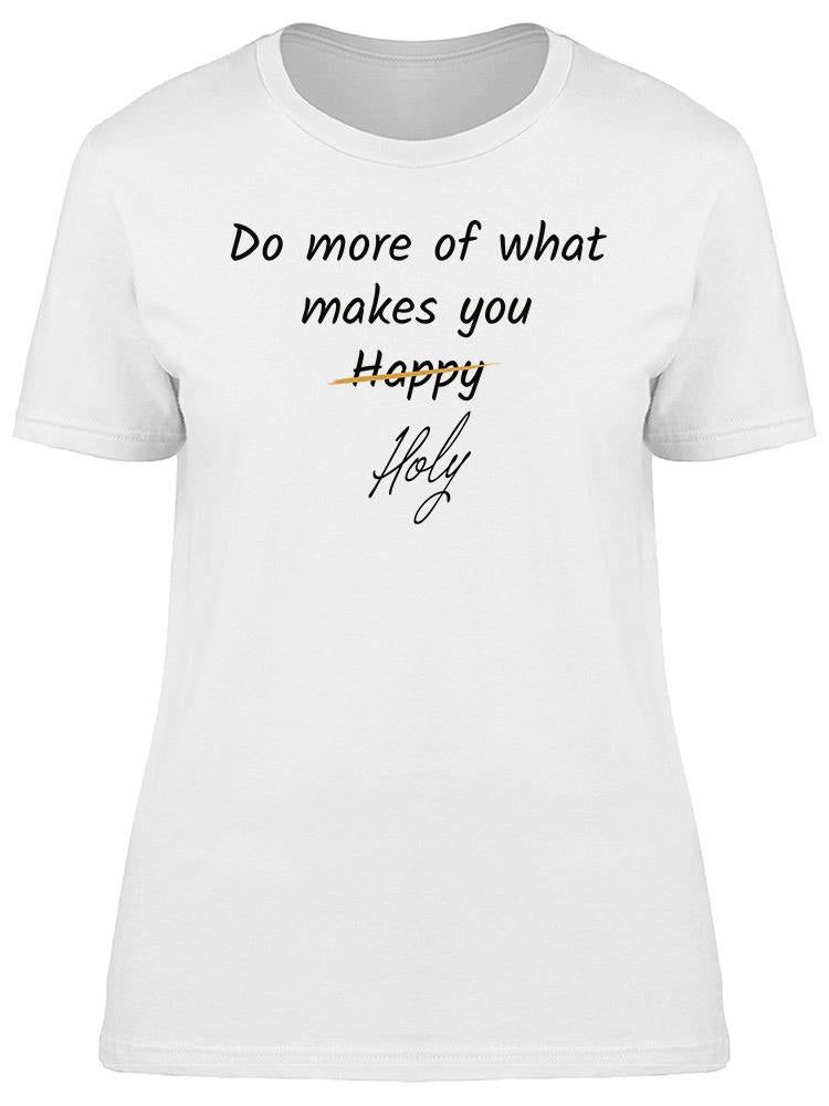 Do Always More Tee Women's -Image by Shutterstock