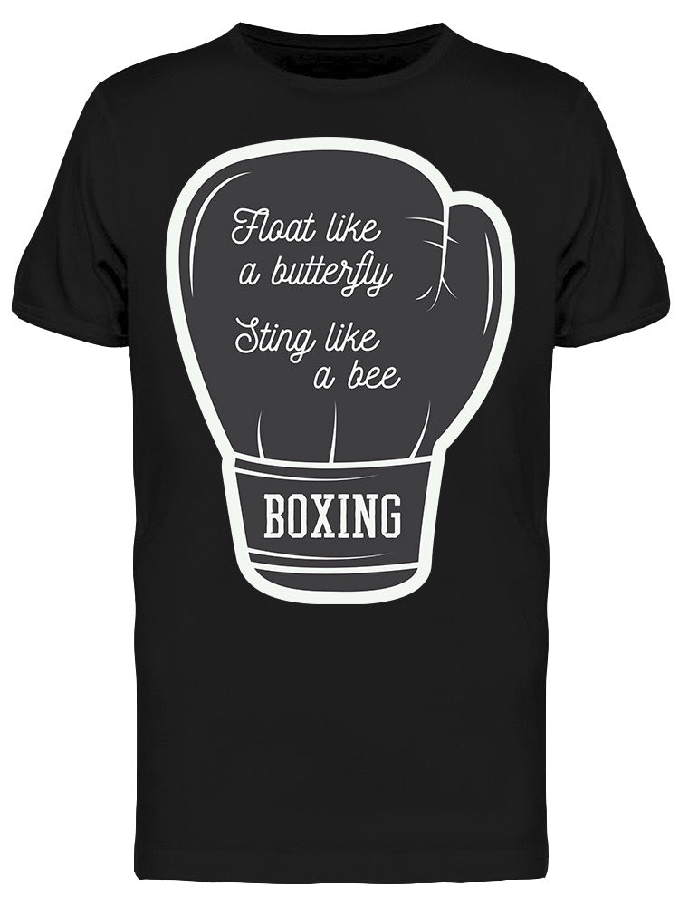 Sting Like A Bee Boxing Glove Tee Men's -Image by Shutterstock