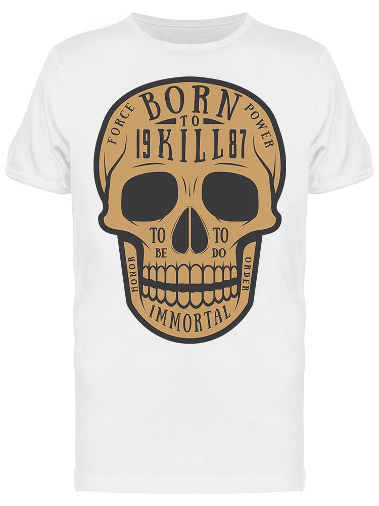 Ummortal Skull Graphic Tee Men's -Image by Shutterstock