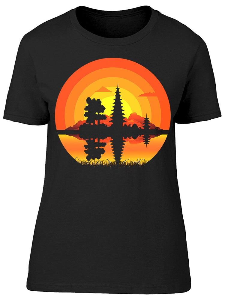 Landscape Nature Lake Tee Women's -Image by Shutterstock
