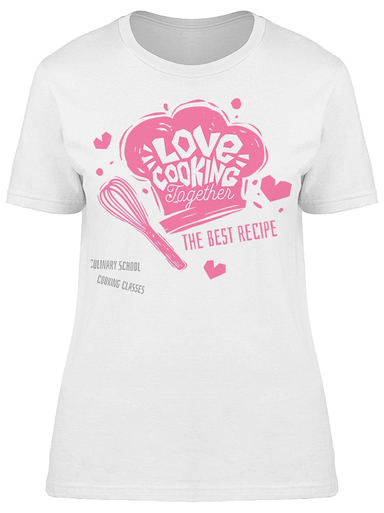 Love Cooking Together Tee Women's -Image by Shutterstock