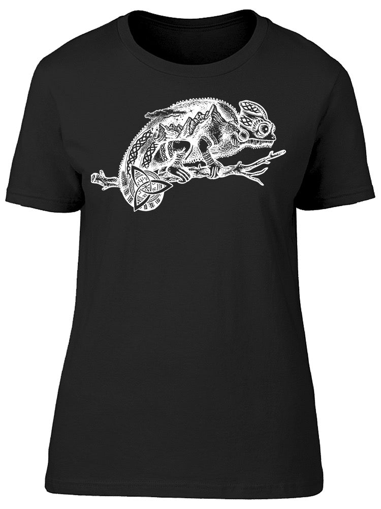 Chameleon Animal Art Tee Women's -Image by Shutterstock