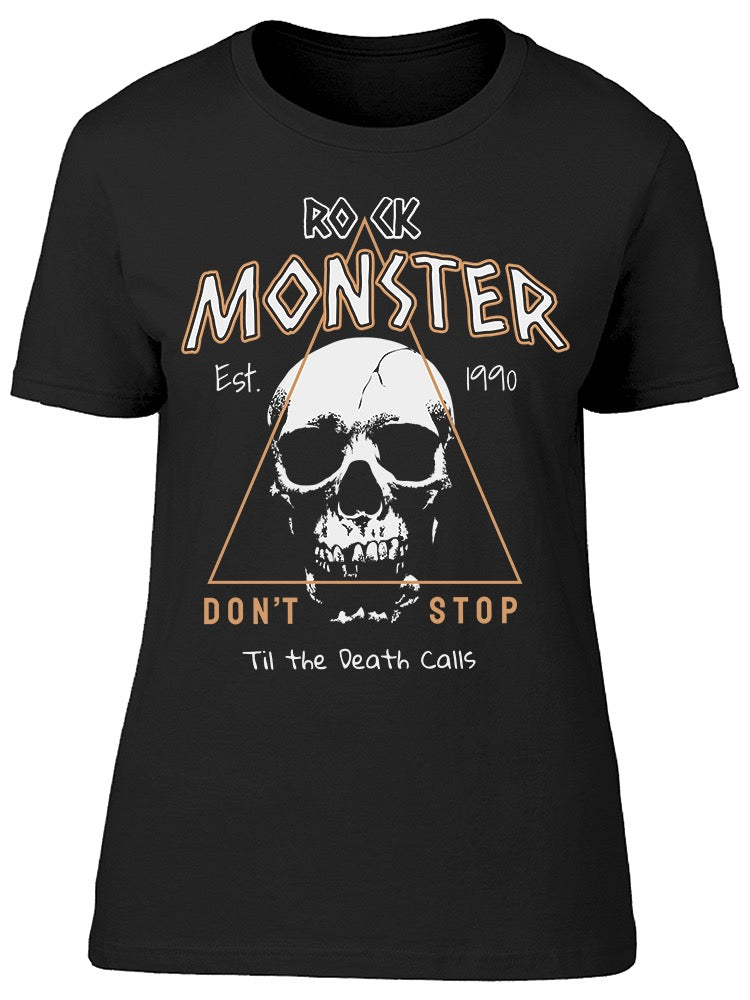 Rock Monster Dont Stop Tee Women's -Image by Shutterstock