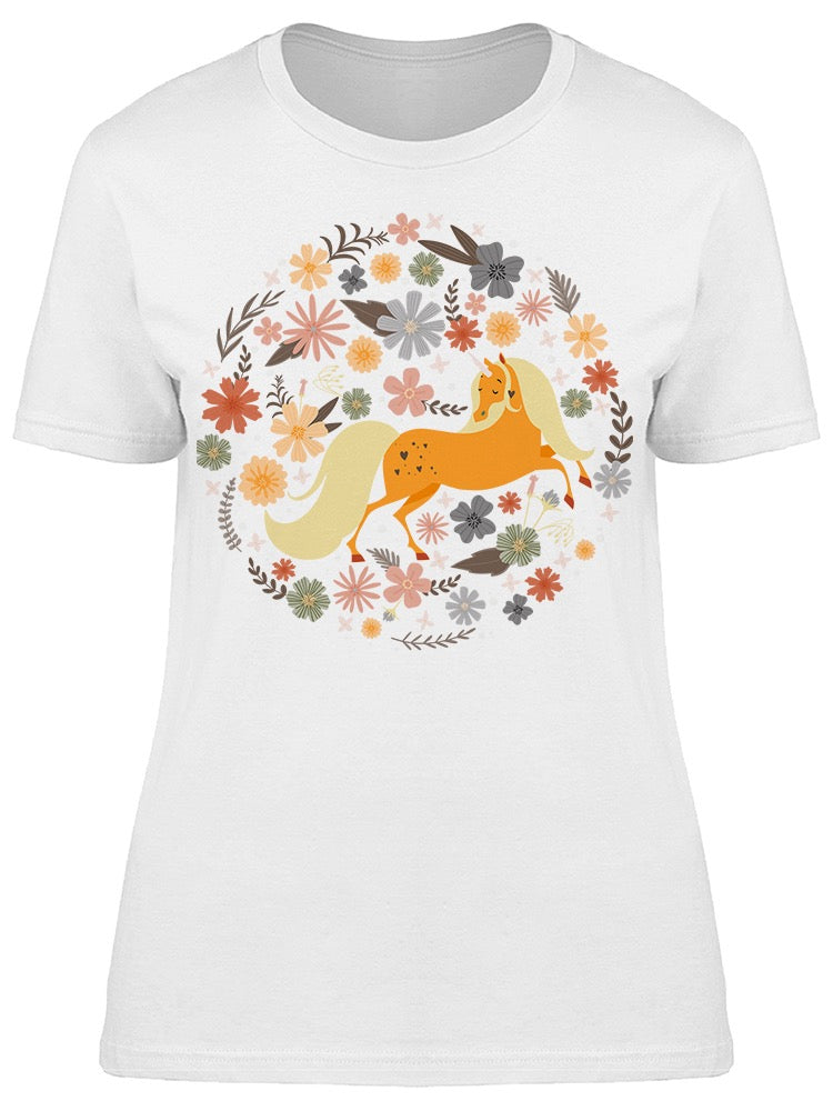 Round Frame Magic Unicorn Tee Women's -Image by Shutterstock