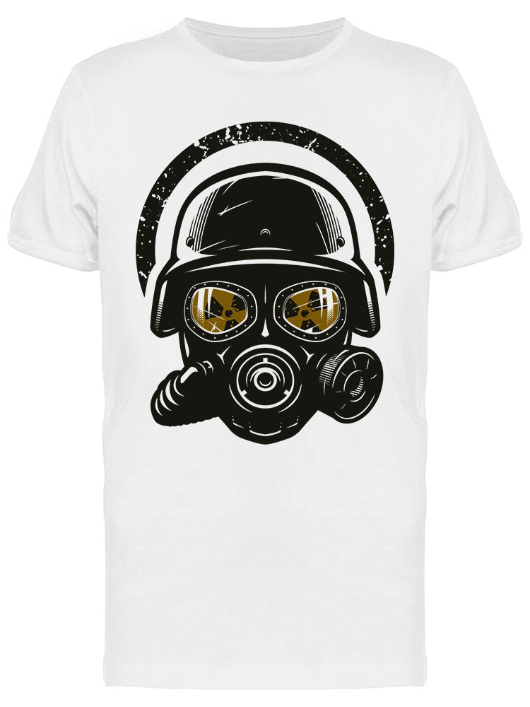 Helmet And Gas Mask Tee Men's -Image by Shutterstock