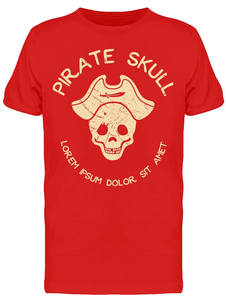 Pirate Grunge Style Tee Men's -Image by Shutterstock