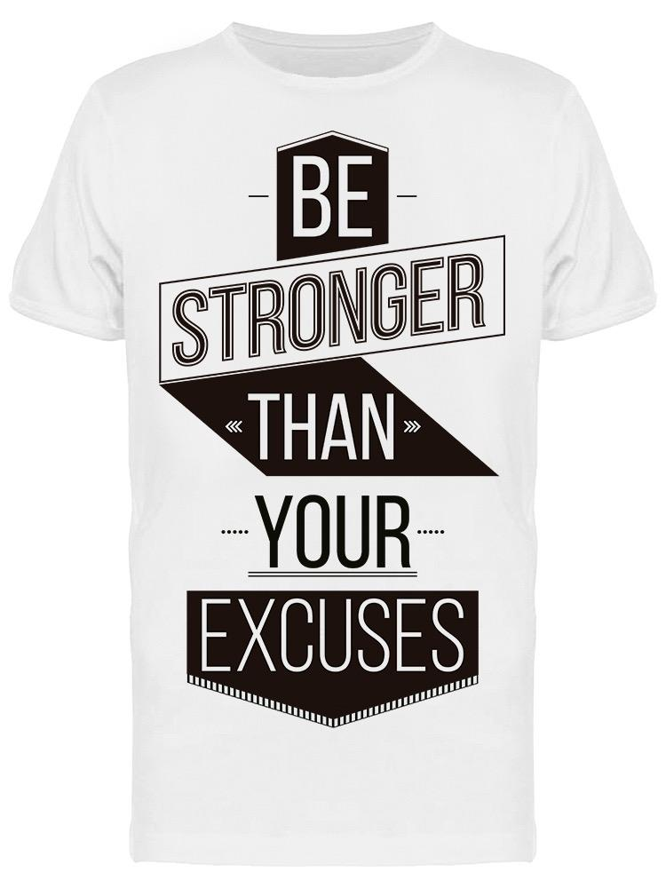 Be More Stronger Tee Men's -Image by Shutterstock