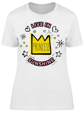 Live In Sunshine Tee Women's -Image by Shutterstock