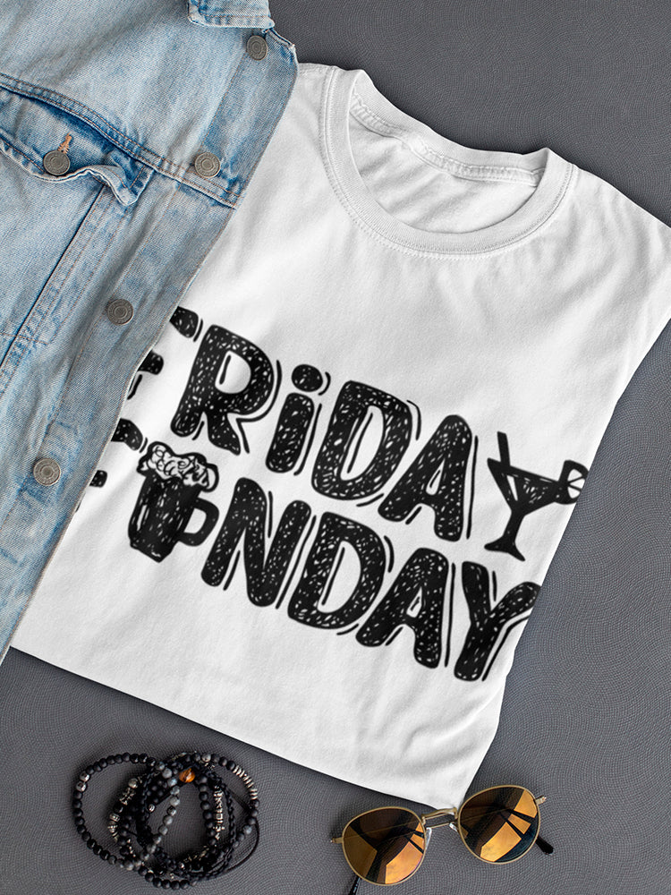 Friday Funday, Let's Drink Tee Women's -Image by Shutterstock