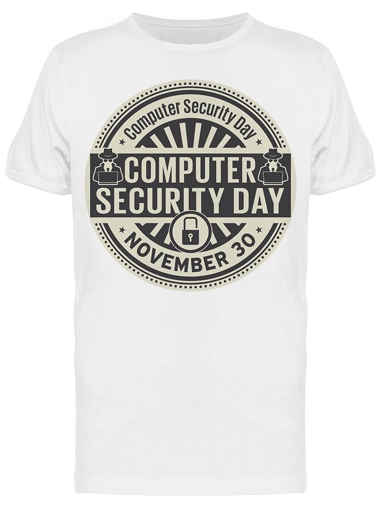 Computer Security Day Icon Tee Men's -Image by Shutterstock