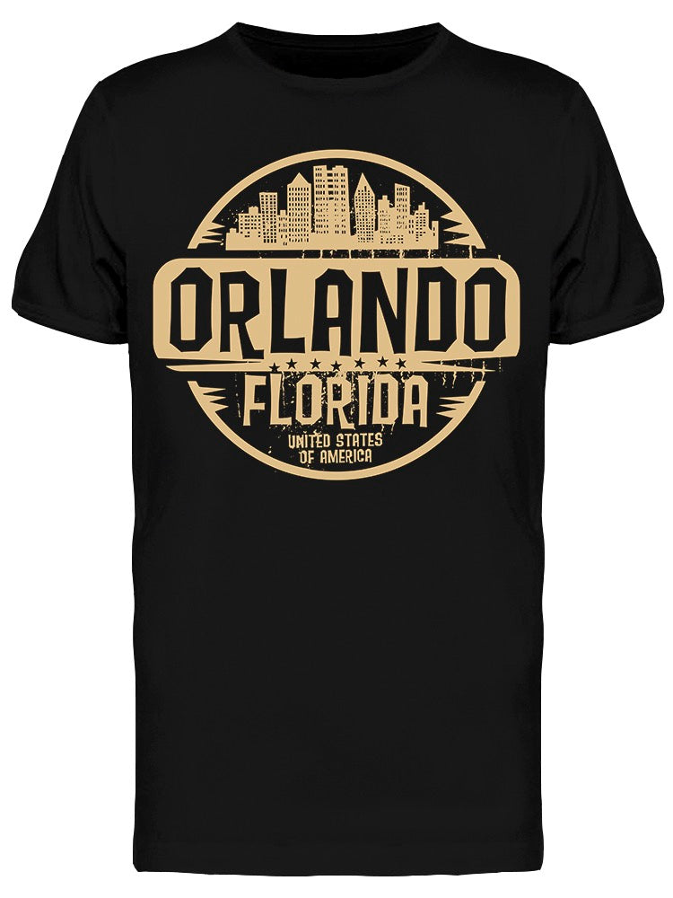 Orlando Florida Stamp Tee Men's -Image by Shutterstock