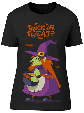 Halloween Witch Tee Women's -Image by Shutterstock