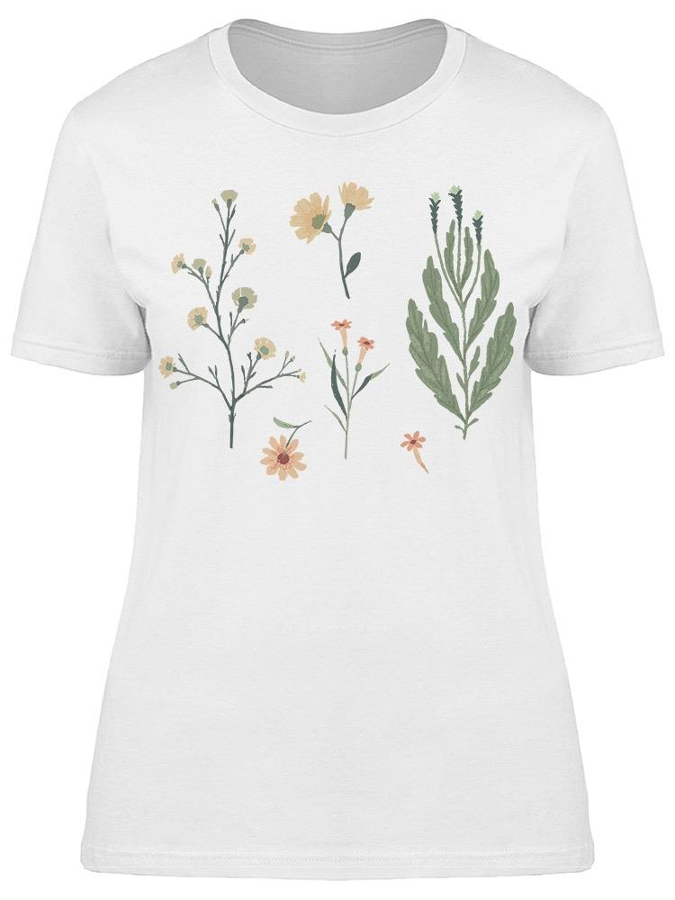 Floral Decorative  Tee Women's -Image by Shutterstock