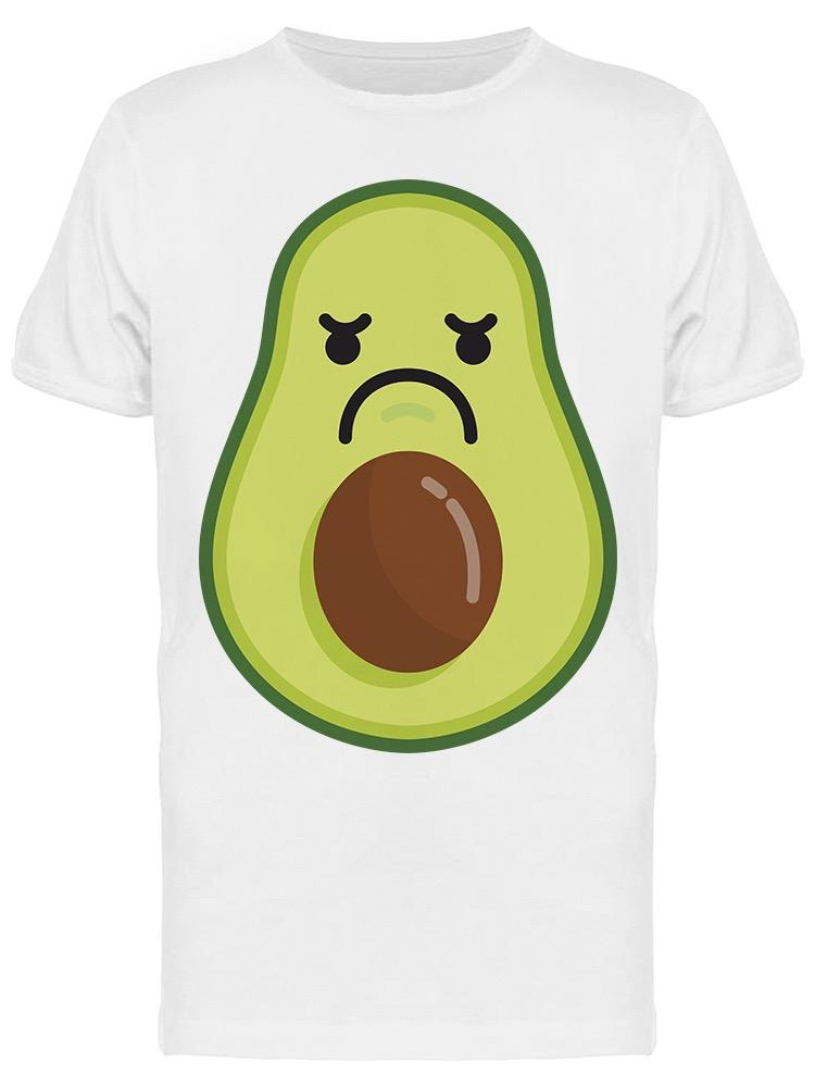 Angry, Cartoon Of Avocado Tee Men's -Image by Shutterstock