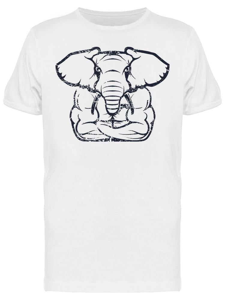 Muscular Elephant Tee Men's -Image by Shutterstock