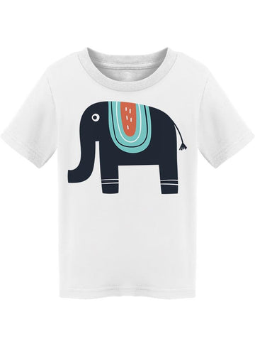 Kid Like Drawn Cute Elephant Tee Toddler's -Image by Shutterstock