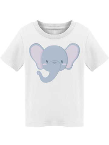 Little Cute Baby Elephant  Tee Toddler's -Image by Shutterstock