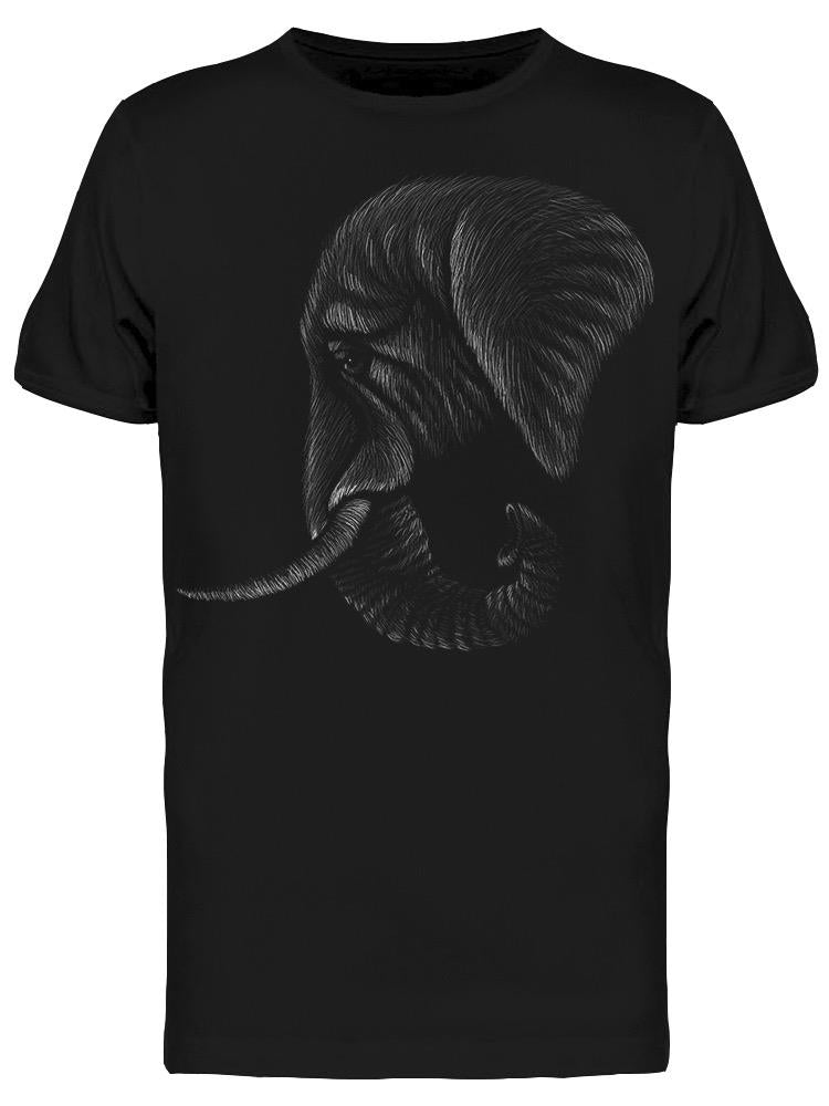 Tired Elephant, Sketch Tee Men's -Image by Shutterstock