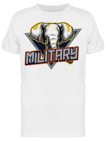 Military Elephant Tee Men's -Image by Shutterstock