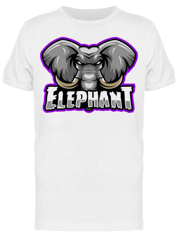 Rude/angry Elephant Tee Men's -Image by Shutterstock