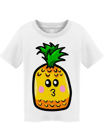 Pineapple Emoticon Like  Tee Toddler's -Image by Shutterstock