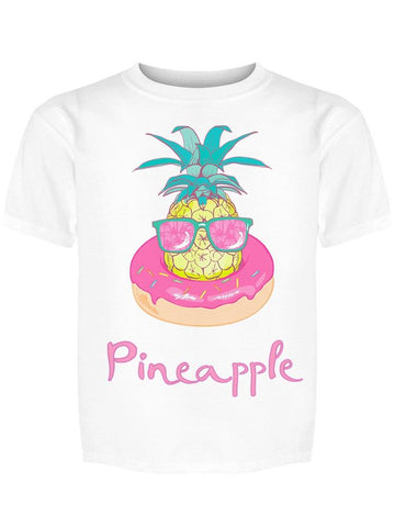 """pineapple"" Cool In Donut Tee Girl's -Image by Shutterstock"