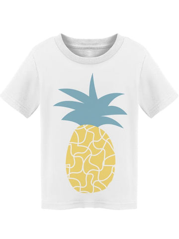 Cool Patterns Pineapple Tee Toddler's -Image by Shutterstock