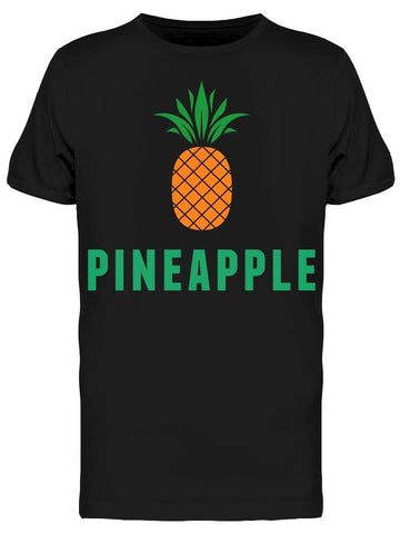 """pineapple"" Simple Design Tee Men's -Image by Shutterstock"